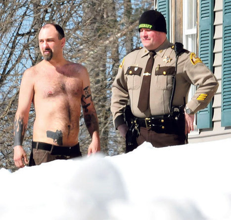 Police State? Cops Confront Man for Having Gun Tattoo   Macro.Today   Scoop.it