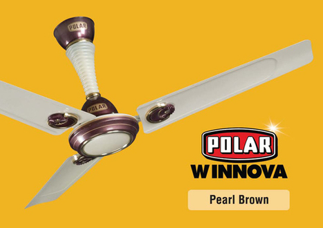 When Fans Are Not Just About Function but Style As Well | Polar India | Home Appliance & Fan | Scoop.it