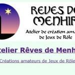 [Site] Atelier Rêves de Menhir – Créations amateur de Jeux de Rôle | Jeux de Rôle | Scoop.it