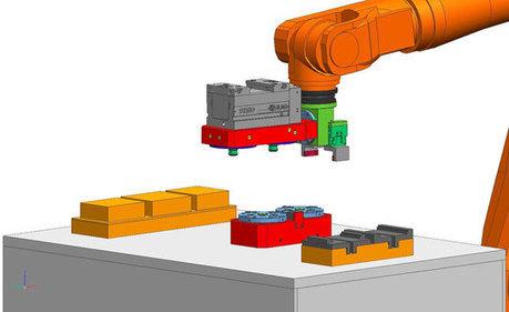 Spécial EMO HANOVRE 2011 : des solutions d'automation pour l'usinage de pièces à partir de lot unitaire chez ROEMHELD | montages d'usinage | Scoop.it