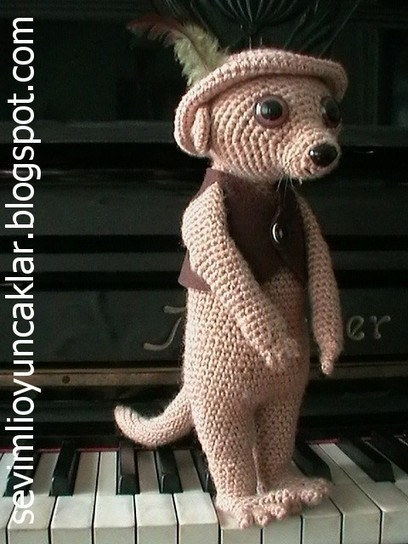Amigurumi Meerkat | Crochet Empire | Geeky Creations | Scoop.it