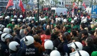 [VIDEO] Bruxelles : Arrestation de manifestants anti TAFTA | Shabba's news | Scoop.it