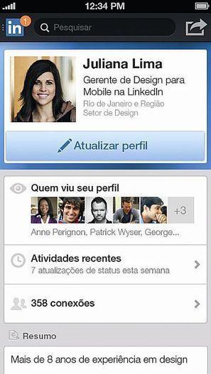LinkedIn fica com aspecto de Facebook | Breaking News About Social Networks | Scoop.it