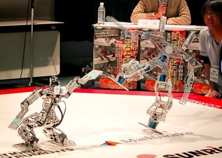 20th ROBO-ONE Humanoid Robot Competition Scheduled | Robots and Robotics | Scoop.it