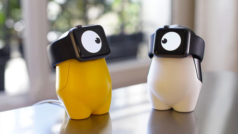 WatchMe : un cyclope recharge votre iWatch   Chasseurs de cool   IDEES BUSINESS   Scoop.it