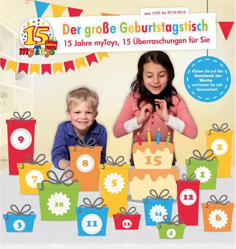myToys wird 15 - 123Bambini gratuliert! - Kinderartikel - Ein Blick auf Produktneuheiten | 123Bambini | Kinderartikel | Scoop.it