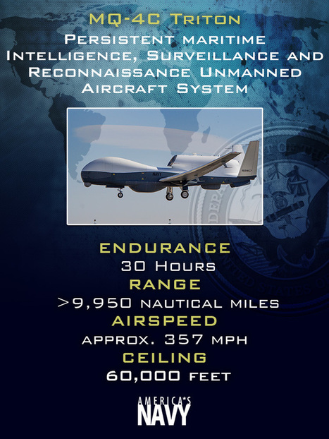 Flying High: Triton team readies for unmanned aircraft's cross-country flight | Infos Drones | Scoop.it