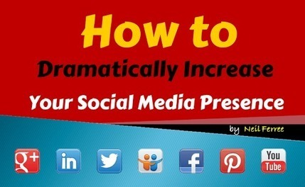 How to Dramatically Increase Your Social Media Presence | Backlinks for your Blog | Scoop.it