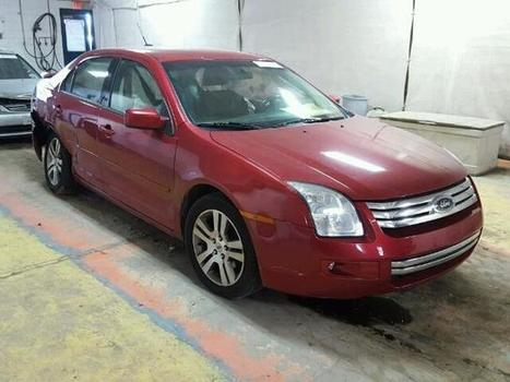 2007 red Ford Fusion Se on Sale in Indianapolis, IN | Online Auto Sale | Scoop.it