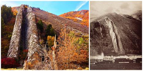 The Devil's Slide: A massive-size limestone chute in Utah's Weber Canyon ...   Abandoned Houses   Scoop.it