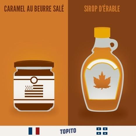Top 23 des illustrations «France vs Québec», le grand clash des cousins en images | Ressources pour la classe de FLE | Scoop.it