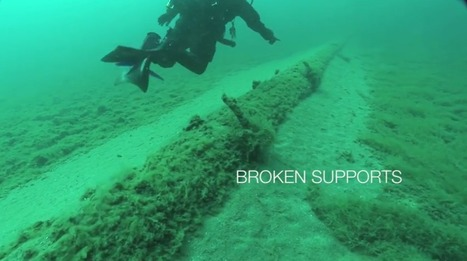 What's the #Condition of the #Pipeline Beneath the #Straits of #Mackinac: VIDEO 5.23mins #OilSlick  #Environment | Rescue our Ocean's & it's species from Man's Pollution! | Scoop.it