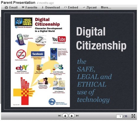Parent Resources - Digital Citizenship | Digital & Media Literacy for Parents | Scoop.it