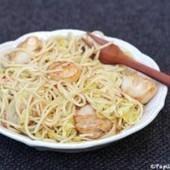 Spaghettis aux poireaux et noix de Saint Jacques | noix de saint jacques | Scoop.it