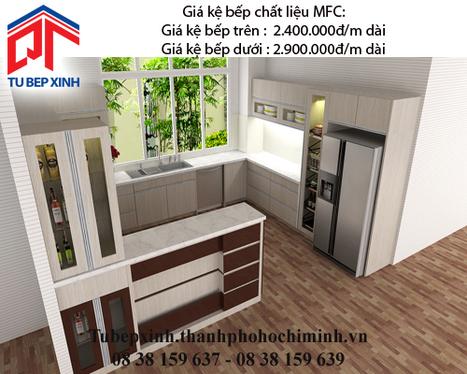 Kệ bếp MFC Nhà chị Trang - Bình Tân - ke-bep-mfc-nha-chi-Trang---Binh-Tan - tu van du hoc uy tin|du hoc gia re - | TỦ BẾP MFC - GIÁ TỦ BẾP MFC | Scoop.it