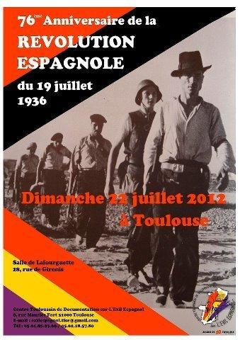 76 ème anniversaire de la Révolution espagnole du 19 juillet 1936 | GenealoNet | Scoop.it