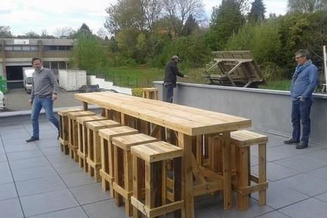 Palettes et Vous : du mobilier en palettes pour aider les sans-abri | SandyPims | Scoop.it