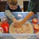 Sensory play ideas using rice | Learn through Play - pre-K | Scoop.it