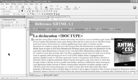 L'environnement de travail pour créer des pages web avec XHTML et CSS   Cours Informatique   Scoop.it