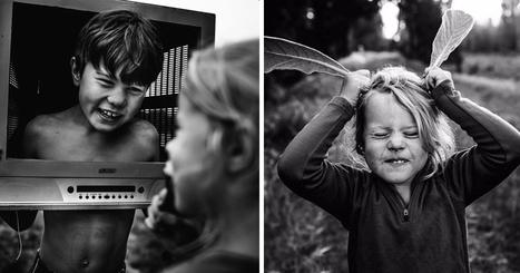 Loin de l'ère du numérique cette série de clichés nous montre des enfants comblés | PhotoActu | Scoop.it