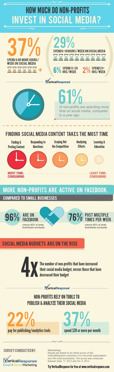 Non-Profits Investing More Time, Money in Social Media [Infographic] | Inclusive Business and Impact Investing | Scoop.it