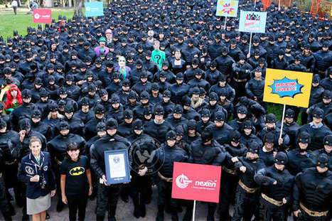 Calgary hosts largest gathering of people dressed as Batman, enter Guinness Book | Wishesh News Brings You all That Matters | Scoop.it