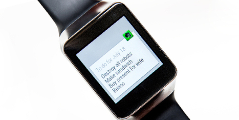 Evernote's Savvy Plan to Join the Wearables Race | Design | WIRED | Technology | Scoop.it