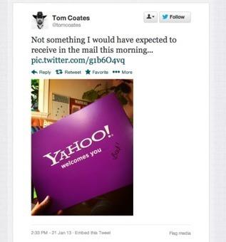 Quand Yahoo veut le retour de ses anciens talents...   La Revue Webmarketing   Scoop.it