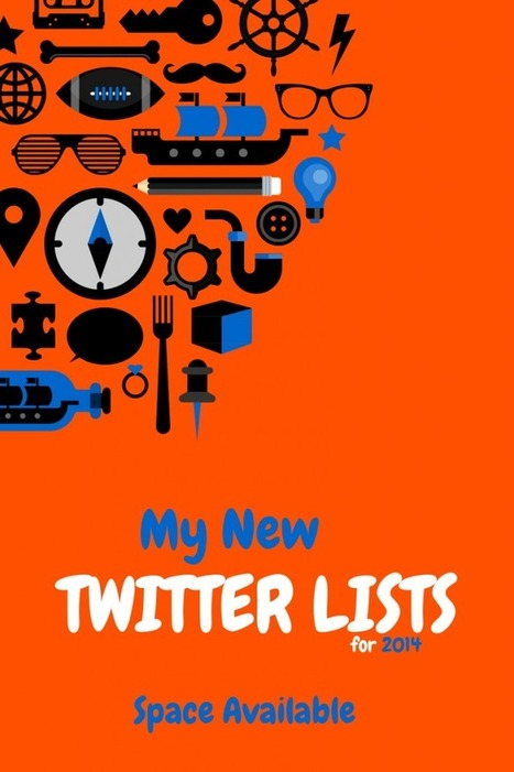 My 10 New Twitter Lists For 2014. Space Available! - More In Media | Inspiring Social Media | Scoop.it