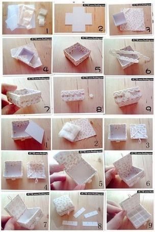How to make lovely Jewelry box step by step DIY tutorial instructions | How To Instructions | DIY crafts and more | Scoop.it