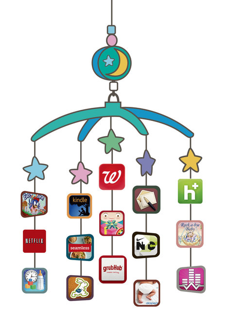 Apps and Other Digital Tools Lend a Hand to New Mothers | Educational Entrepreneurship | Scoop.it