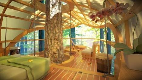 These Amazing Hanging Hotel Rooms Let Guests Camp In Trees | Real Estate Plus+ Daily News | Scoop.it