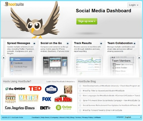 :: 10 Twitter Tools Used by Social Media Experts :: | Information Economy | Scoop.it