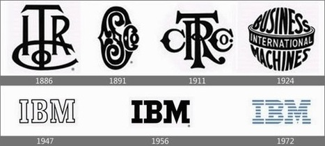 Pictures worth seeing for some famous company logos between Yesterday and Today ~ hz1993 blog | internet | Scoop.it