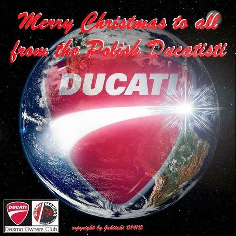 Ductalk | Merry Christmas from the Desmo Maniax Ducati Owners Club Poland!! | Ductalk Ducati News | Scoop.it
