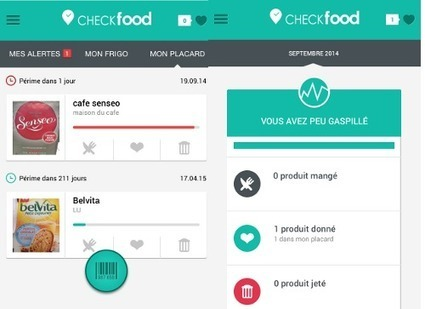Checkfood, l'appli pour lutter contre le gaspillage alimentaire ! | Elearning | Scoop.it