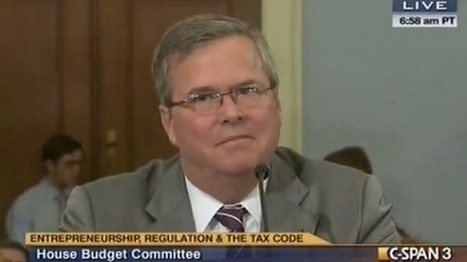Jeb Bush slams Norquist's tax pledge: Don't 'outsource your principles' | The Raw Story | Sustain Our Earth | Scoop.it