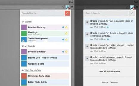 Boards for Trello Gives Quick Access to Your Boards in Chrome | Moodle and Web 2.0 | Scoop.it