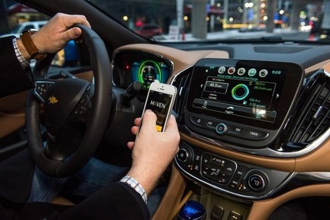 GM announces Maven car-sharing service | Travellers multimodal information system | Scoop.it
