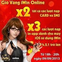 Khuyến mãi x3 iwin tháng 10 | Cho thuê kho, cho thuê văn phòng tại Hà Nội | Scoop.it