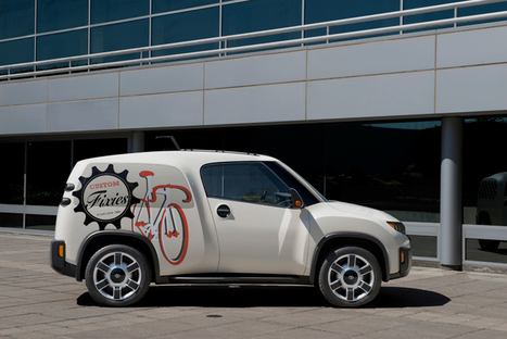 toyota urban utility U2 car influenced by maker faire lifestyle trends - Designboom | Art and Lifestyle | Scoop.it