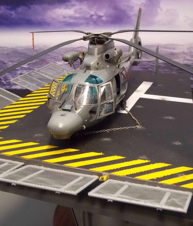 Eurocopter SA 360 Dauphin | Military Miniatures H.Q. | Scoop.it