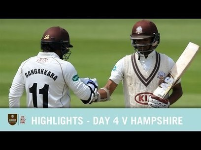 (Video) Day 4, Surrey vs Hampshire, County Championship, 2016, Highlights | Sri Lanka Cricket | Scoop.it