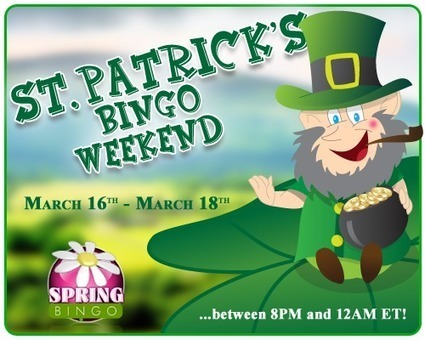 """Get Lucky St. Patrick's Bingo Weekend at BingoHouse ™ 