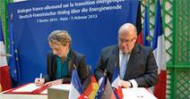 Dialogue franco-allemand sur les énergies renouvelables - Ministère du Développement durable | Actualités du secteur de l'énergie | Scoop.it