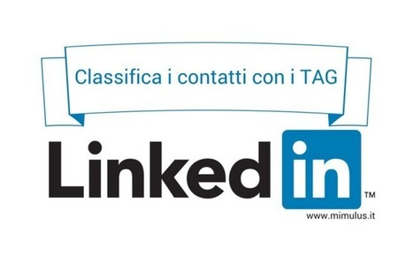 I TAG Linkedin per la Lead Generation | Digital Friday | Scoop.it
