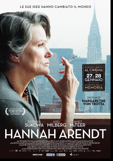 Hannah Arendt | il film - Nexo Digital | zippora info by raethia corsini | Scoop.it