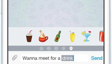 Llega Telegram con Aniways con más iconos, GIFS y locales | Creatividad y Comunicación 2.0 | Scoop.it