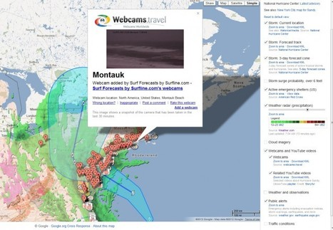 Google Puts Hurricane Sandy on the Crisis Map: Helping the Eastern Seaboard Through Frankenstorm - Search Engine Journal   Prozac Moments   Scoop.it