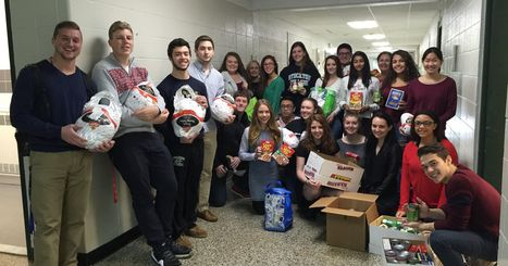 National Honor Society student hold food drive | Honor Society Activities in the News | Scoop.it